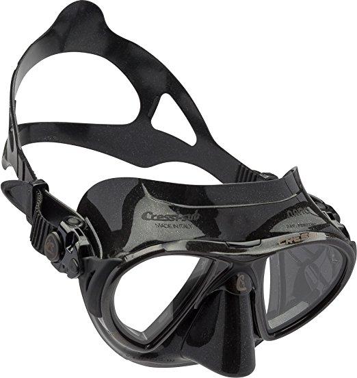 Cressi Nano 50 - Máscara de buceo, color negro