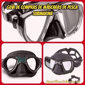 Guía compras de máscaras de pesca submarina - apneaypescasubmarina.com