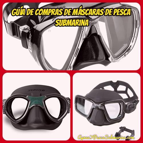 Máscaras para pesca submarina 2018 - Guía 2018