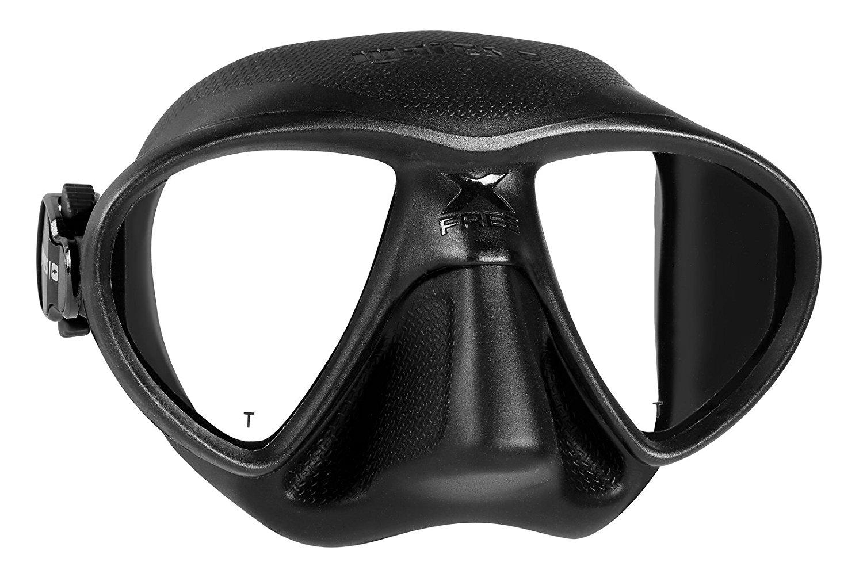 Mares X-Free, máscara de buceo, color negra