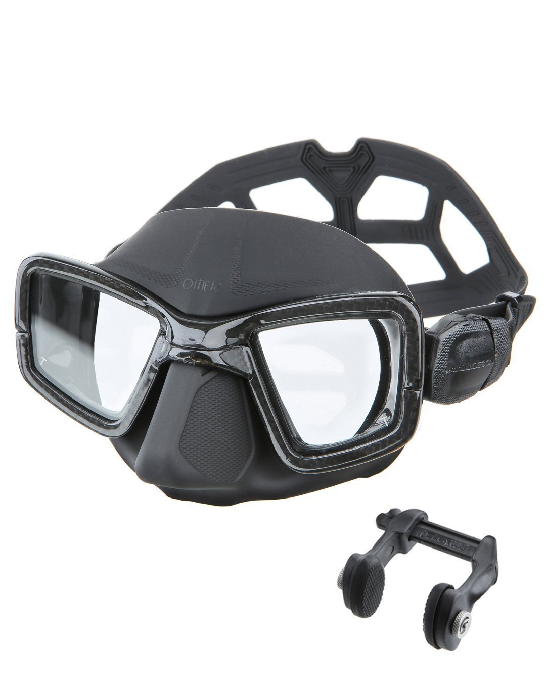 Omer UP-M1C, máscara de buceo carbono Umberto Pelizzari