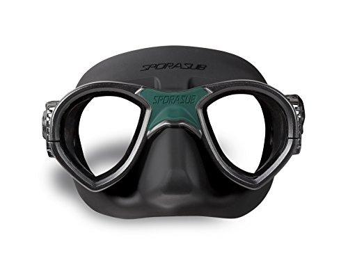 Sporasub Mystic, máscara de buceo, color negra