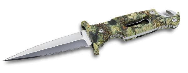 Cuchillo de pesca submarina - Sporasub - Dagger Black Shark