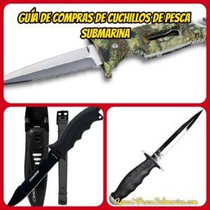 Guía de compras de cuchillos de pesca submarina - apneaypescasubmarina.com