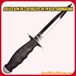 catalogo cuchillos pesca submarina