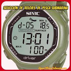 catalogo de relojes de pesca submarina
