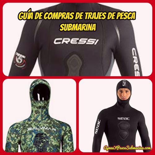 Portada guía de compras de trajes de pesca submarina - apneaypescasubmarina.com
